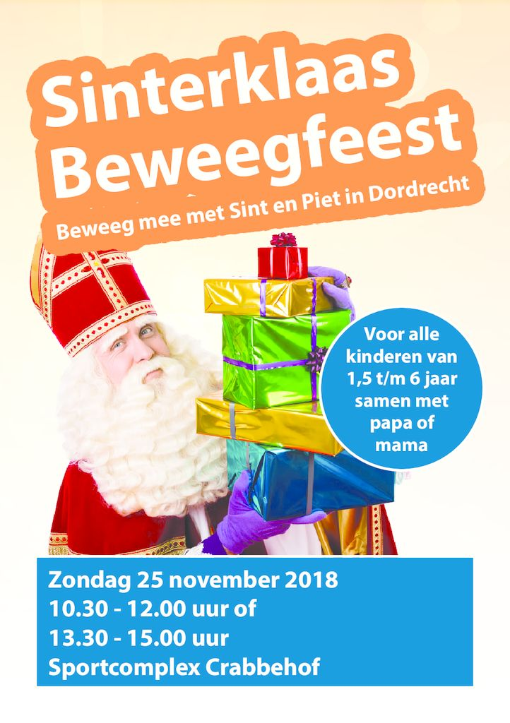 thumbnail of Sinterklaas Beweegfeest 2018 Flyer