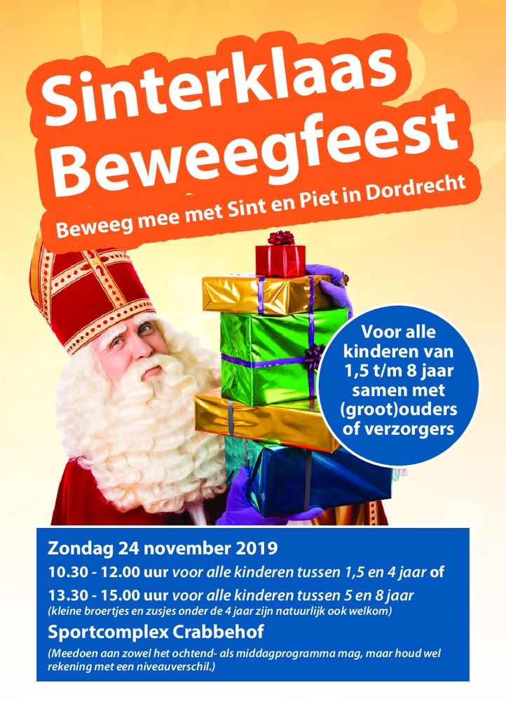 thumbnail of Dordt Sport Sint Beweegfeest Flyer A5 09-2019