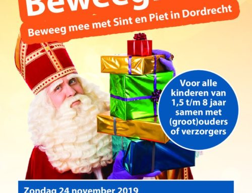 Sporten en plezier maken met Sint en Piet op zondag 24 november